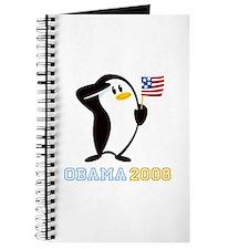 Proud Penguin OBAMA 2008 Journal