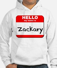 Hello my name is Zackary Hoodie