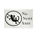 No Newt Axes Rectangle Magnet