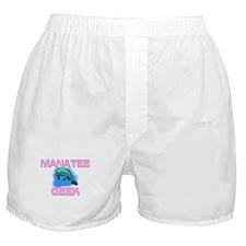 Manatee Geek Boxer Shorts