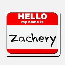 Hello my name is Zachery Mousepad