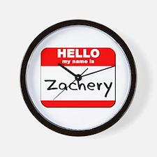 Hello my name is Zachery Wall Clock