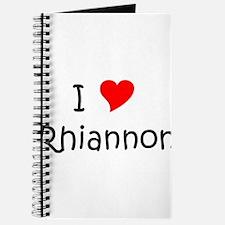 Funny Rhiannon Journal