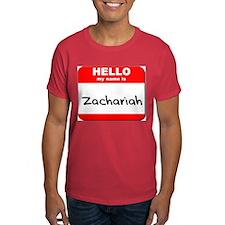 Hello my name is Zachariah T-Shirt