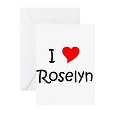 Roselyn Greeting Cards (Pk of 20)