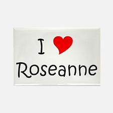 Roseanne Rectangle Magnet