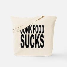 Junk Food Sucks Tote Bag
