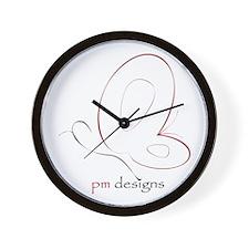 pm designs Wall Clock