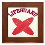 Lifeguard Framed Tile