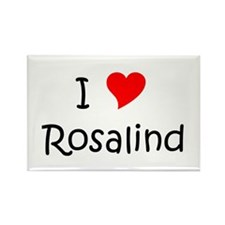 Cool Rosalind Rectangle Magnet