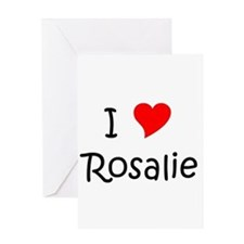 Funny Rosalie Greeting Card