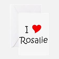 Cute Rosalie Greeting Card