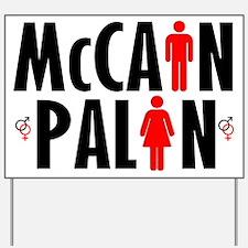 Vote McCain Palin Yard Sign