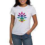 Rainbow Seated Yogi Women's T-Shirt