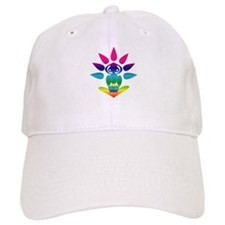 Rainbow Seated Yogi Cap