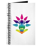 Rainbow Seated Yogi Journal