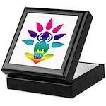 Rainbow Seated Yogi Keepsake Box