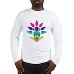 Rainbow Seated Yogi Long Sleeve T-Shirt