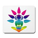 Rainbow Seated Yogi Mousepad
