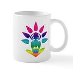 Rainbow Seated Yogi Mug