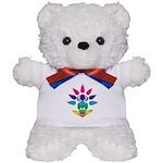 Rainbow Seated Yogi Teddy Bear