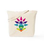 Rainbow Seated Yogi Tote Bag