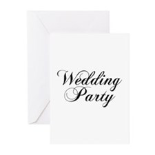 Wedding Party Greeting Cards (Pk of 10)