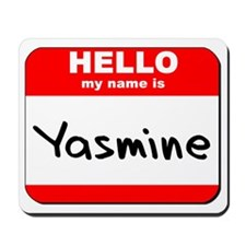 Hello my name is Yasmine Mousepad