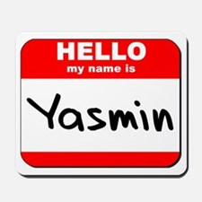 Hello my name is Yasmin Mousepad