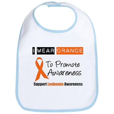 Leukemia I Wear Orange Bib