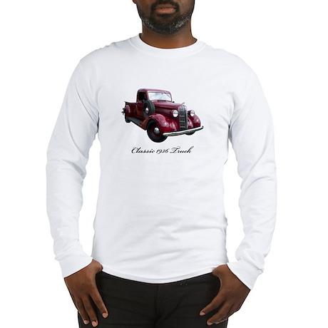 1936 Old Pickup Truck Long Sleeve T-Shirt