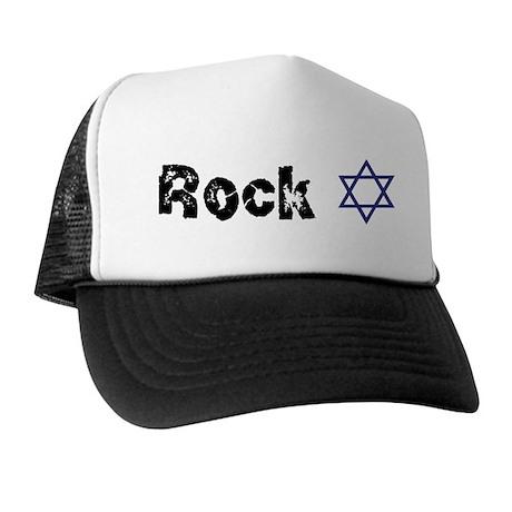 Rock Star of David Trucker Hat