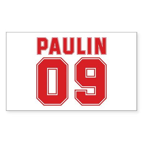 PAULIN 09 Rectangle Sticker 50 pk)