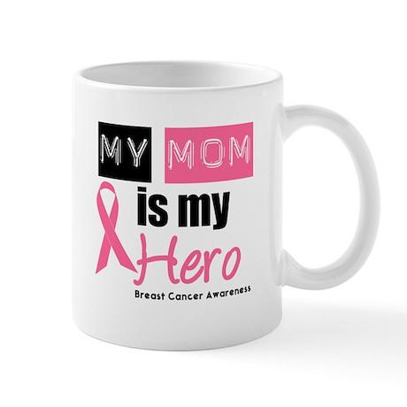 Breast Cancer Hero Mug
