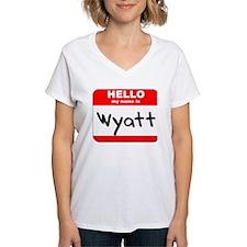 Hello my name is Wyatt Shirt
