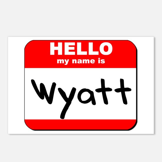 Hello my name is Wyatt Postcards (Package of 8)
