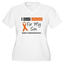 Leukemia I Wear Orange T-Shirt