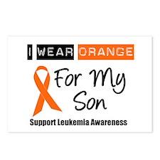 Leukemia I Wear Orange Postcards (Package of 8)