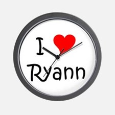 Unique Ryann Wall Clock
