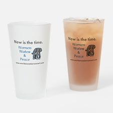 Now, Women Water Peace - Drinking Glass