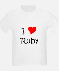 Cute Ruby T-Shirt