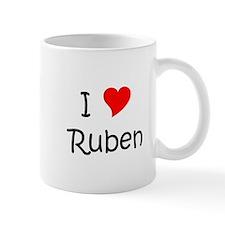 Cute I heart ruben Mug