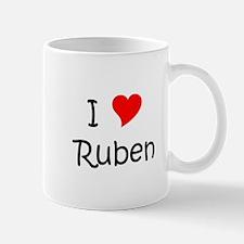 Unique I love ruben Mug
