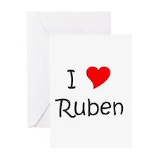 Ruben name Greeting Card