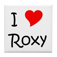 Cute Roxy Tile Coaster