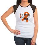 KickingLeukemiaAss Women's Cap Sleeve T-Shirt