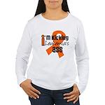 KickingLeukemiaAss Women's Long Sleeve T-Shirt