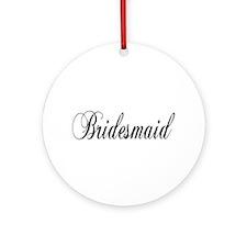 Bridesmaid Keepsake (Round)