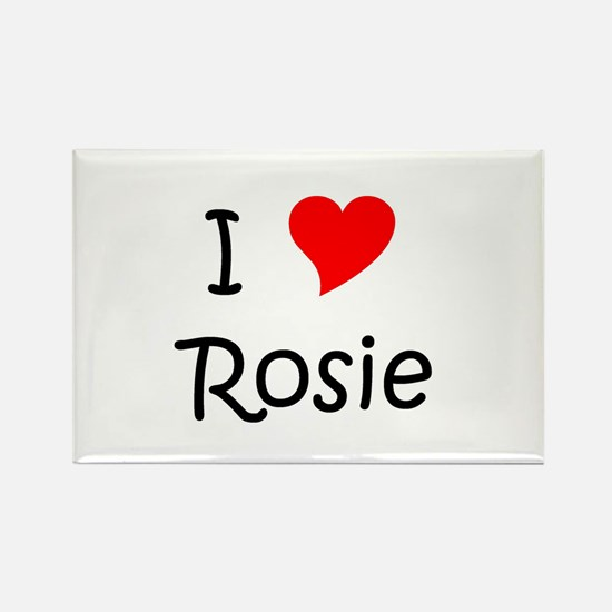 Cute Rosie Rectangle Magnet