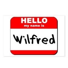 Hello my name is Wilfred Postcards (Package of 8)
